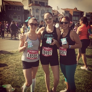 Nike sf race  finish