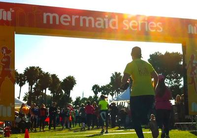 Mermaid series half marathon 2